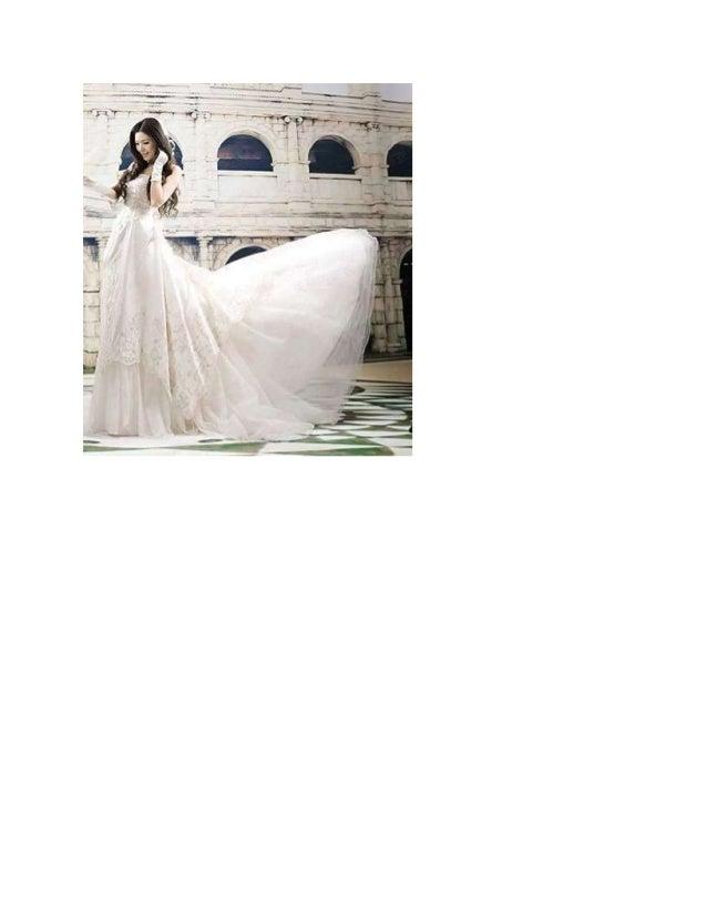 áO cưới nói gì về các nàng dâu