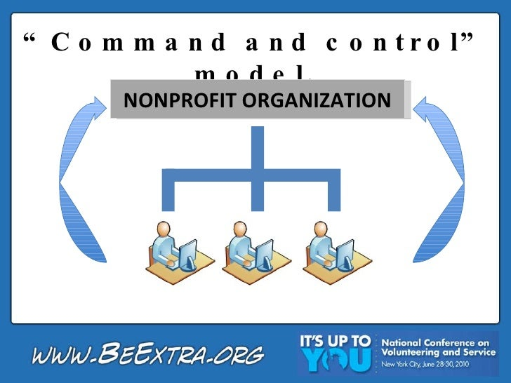 """ Command and control"" model. NONPROFIT ORGANIZATION"