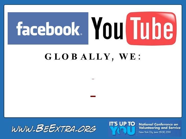 GLOBALLY, WE:
