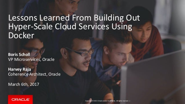 lessons learned from building out hyper scale cloud