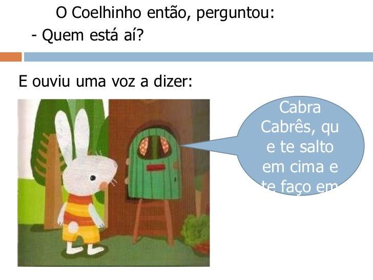 O Coelhinho Branco Slide 3