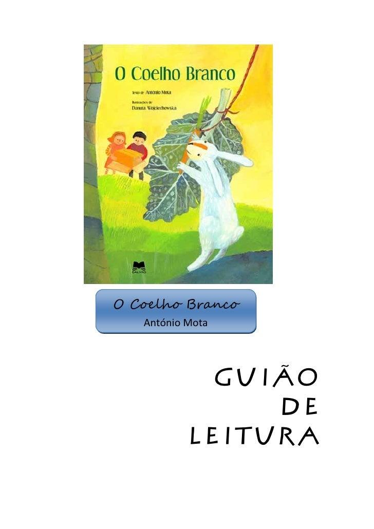 O Coelho Branco   António Mota             Guião                de           leitura