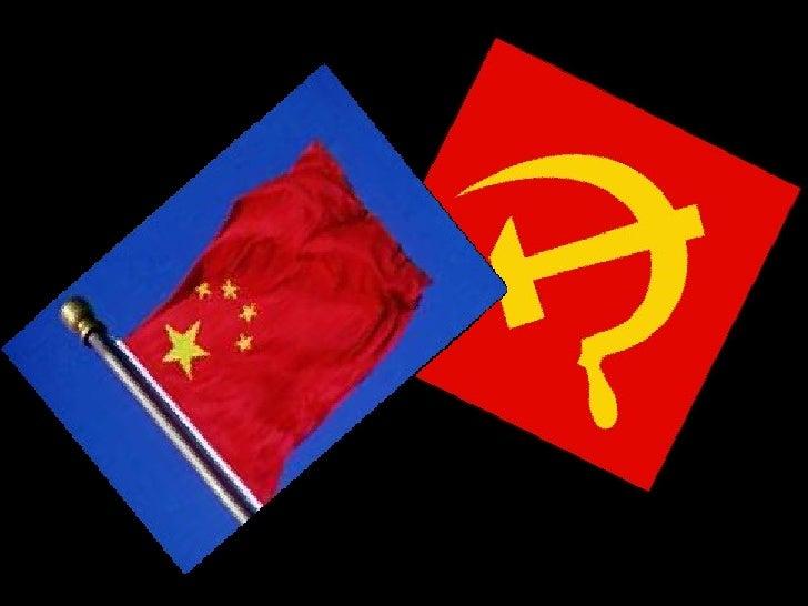 Dupla: Danieli Contadini e Géssica Loureiro. Turma: 3v1 Tema: O Comunismo Chinês Prof.º: Marco Antônio  Colégio Estadual d...