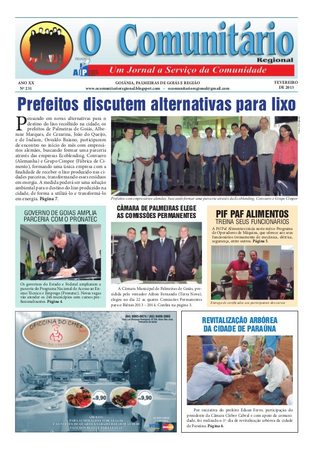 ANO XX                                             GOIÂNIA, PALMEIRAS DE GOIÁS E REGIÃO                                   ...