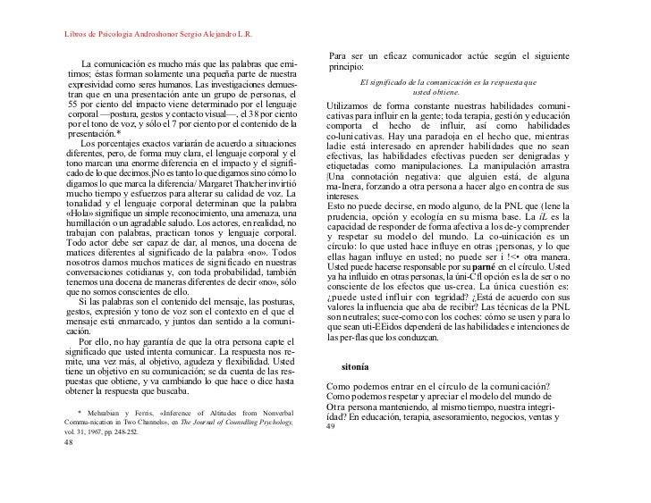 Libros de Psicologia Androshonor Sergio Alejandro L.R