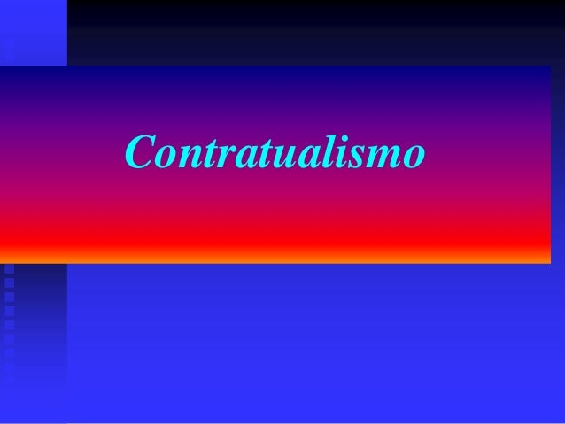 Contratualismo
