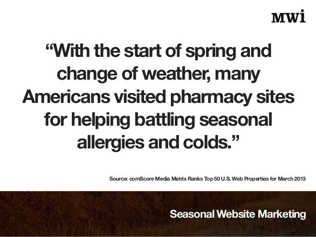 Seasonal Website Marketing Slide 3