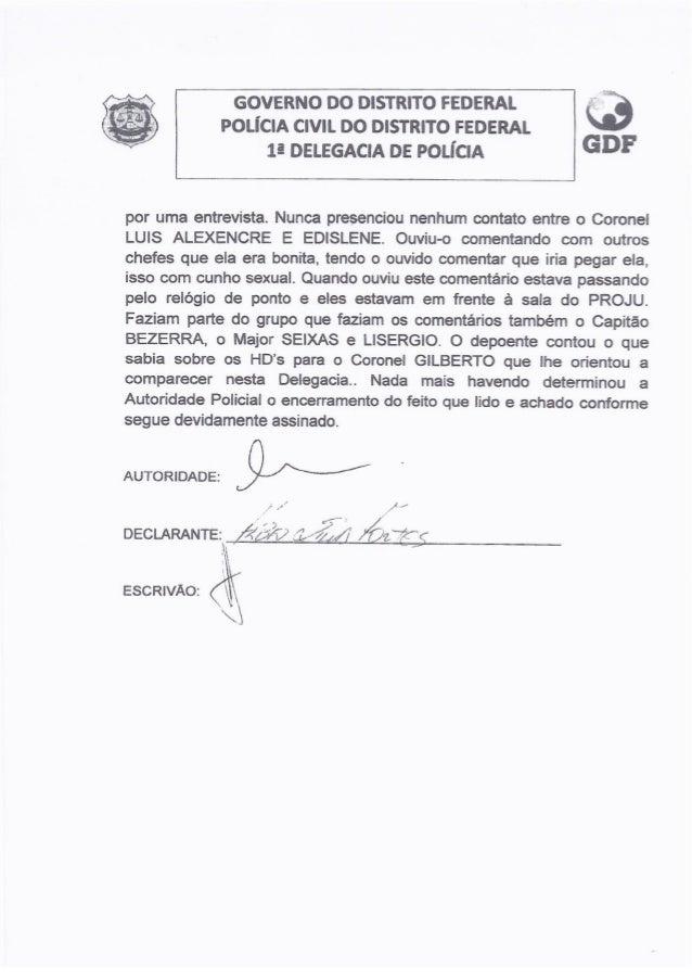 Ocorrencia policial e Relatório da ata Slide 3
