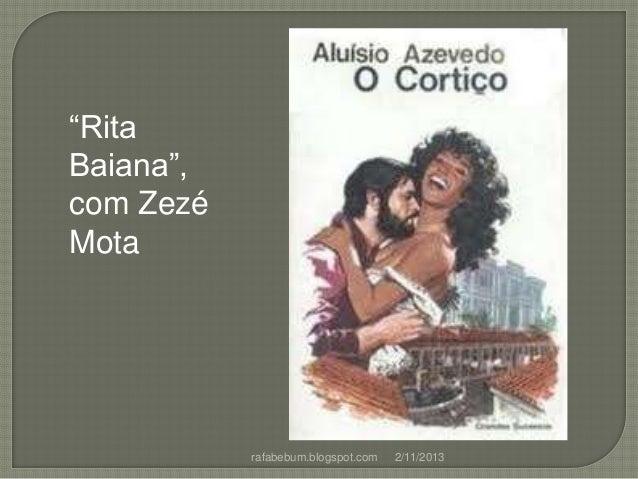 """""""Rita Baiana"""", com Zezé Mota  rafabebum.blogspot.com  2/11/2013"""