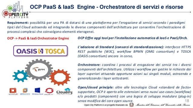 Requirement: che i servizi erogati dalle piattaforme Cloud di domini amministrativi diversi interoperino facilmente tra lo...