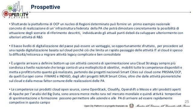 Ocp presentazione generale - overview del progetto