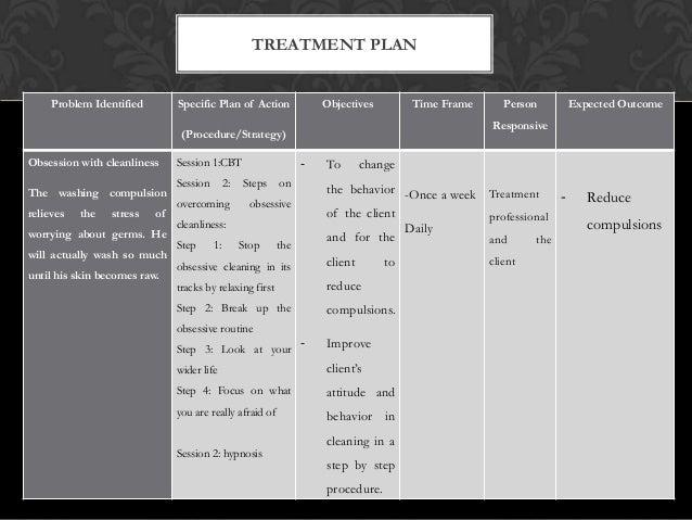 Ocpd treatment plan