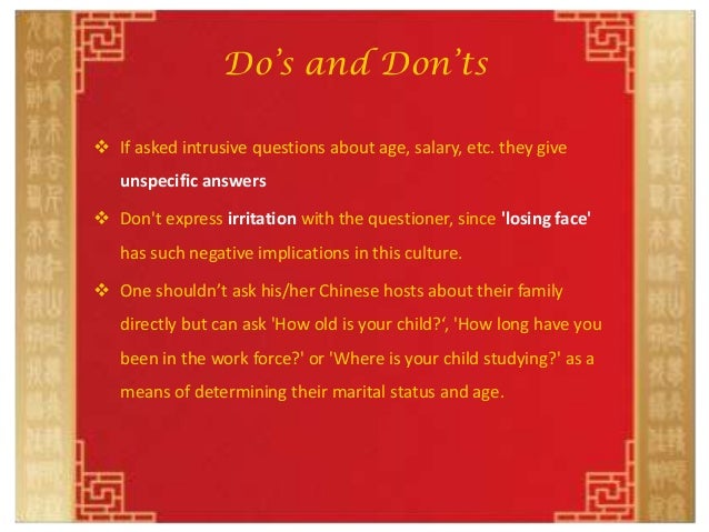 china etiquette dos and donts