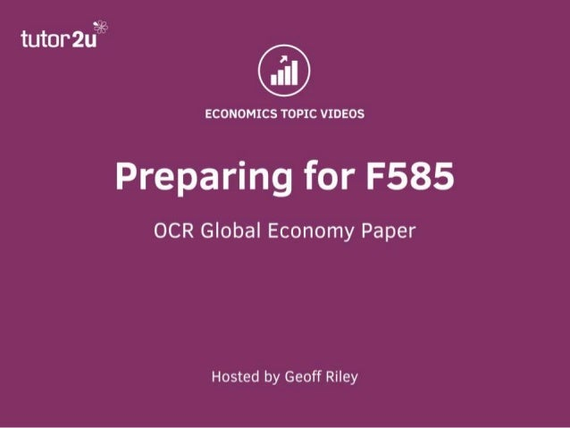 ocr economics f585 case study