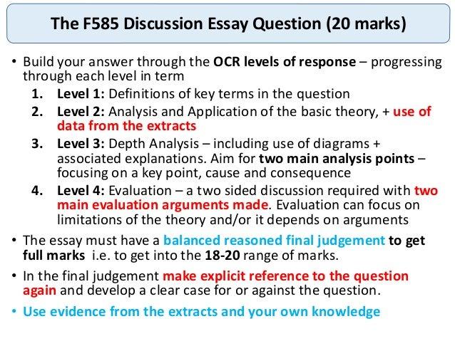 ocr f585 case study