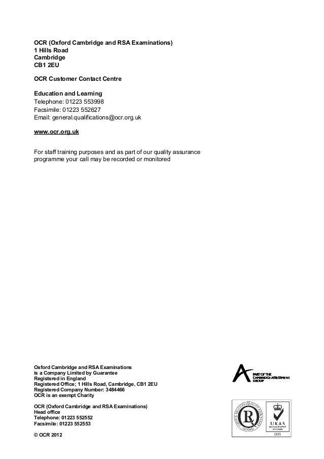 english gcse coursework mark schemes