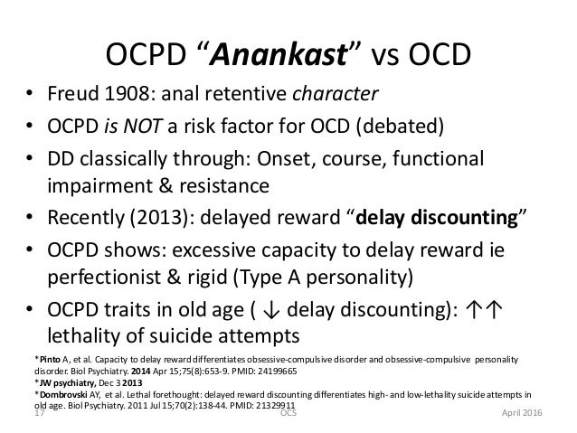 Anal compulsive disorder