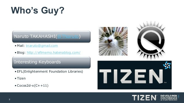 Tizen & Crosswalk Slide 2