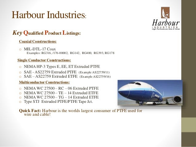 Harbour Industries Overview Oct.2014