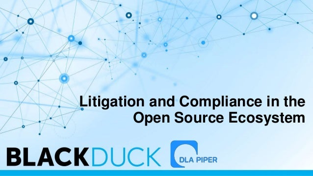 Litigation and Compliance in the Open Source Ecosystem