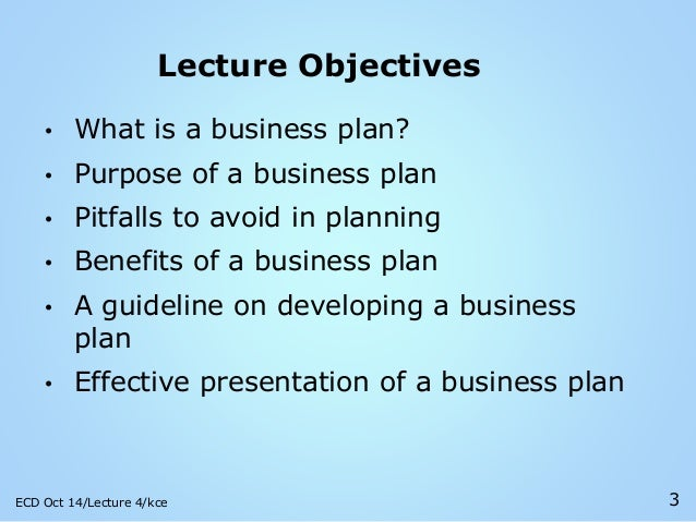 what is a business plan important