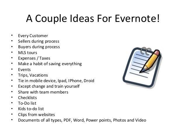 Evernote Slide 2
