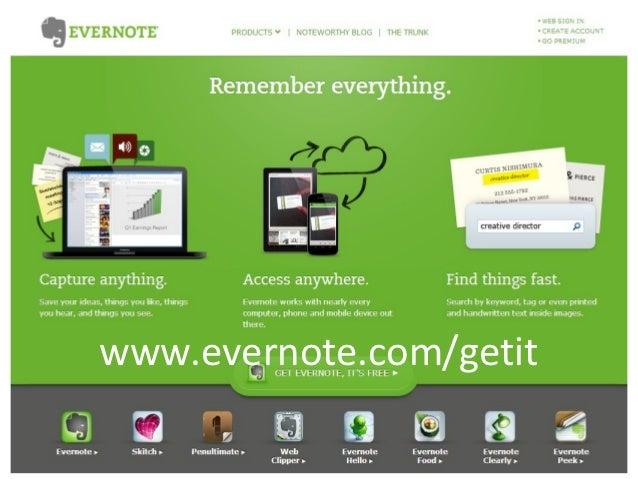 Evernote Slide 3
