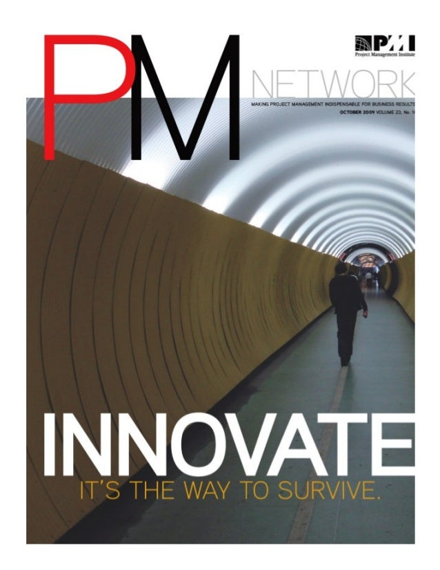 """""""Innovate or Die"""" from the October 2009 Issue of PM Network"""