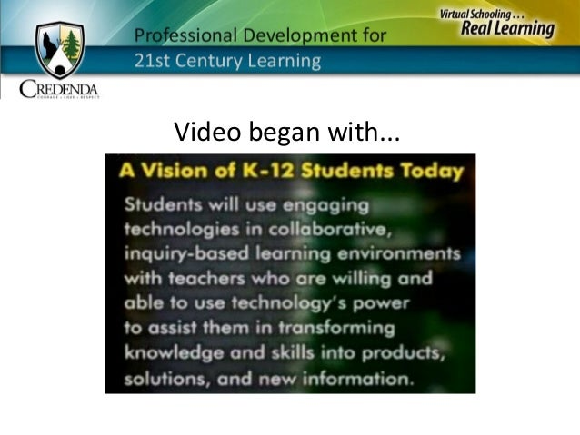 A Vision Of Students Today Youtube An Introduction To The