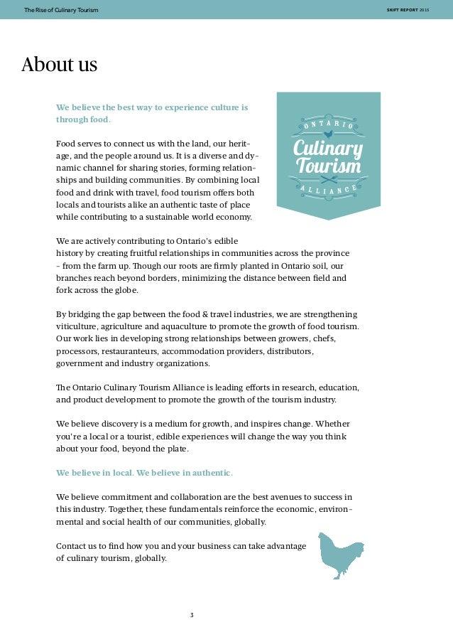 Skift + OCTA: The Rise of Food Tourism Slide 3