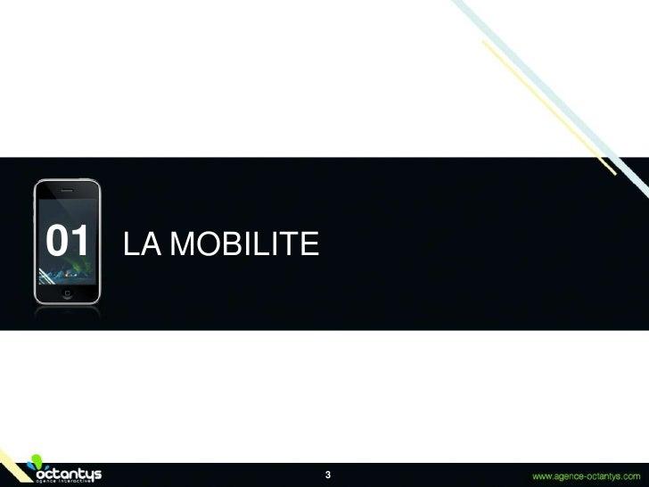 3<br />LA MOBILITE<br />01<br />