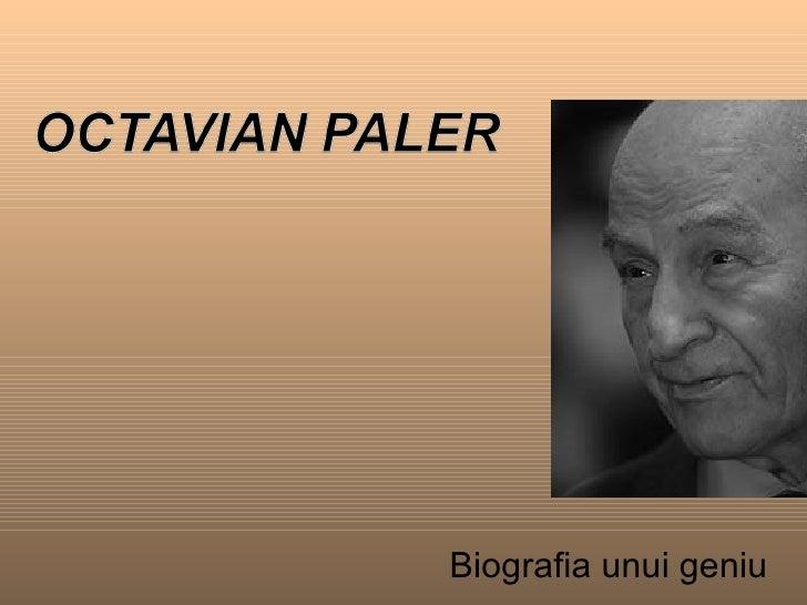 Biografia unui geniu