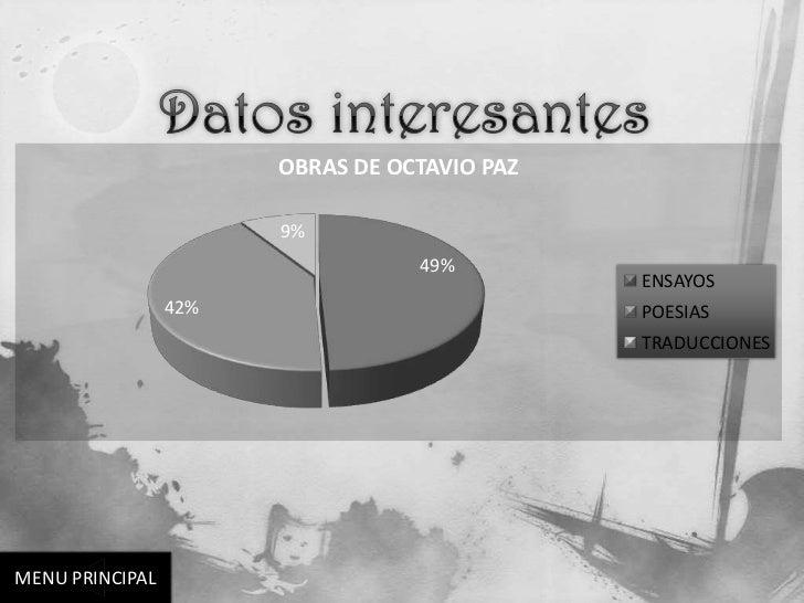 OBRAS DE OCTAVIO PAZ                       9%                                  49%                                        ...
