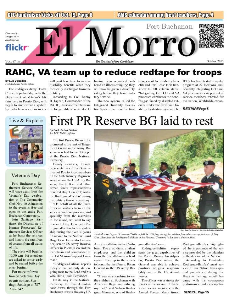 El Morro  CFC fundraiser kicks off Oct. 19, Page 6                                               AMS educator among best t...