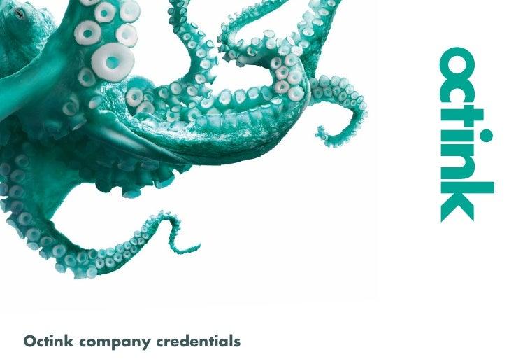 Octink company credentials