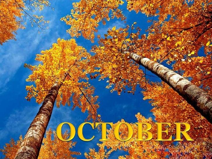 OCTOBER<br />