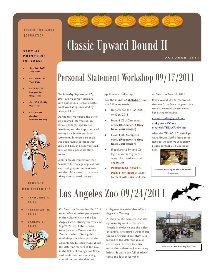 TELACU EDUCATIONFOUNDATIONSPECIALPOINTS OF                             Classic Upward Bound II                            ...