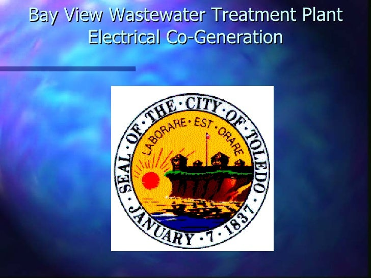 Bay View Wastewater Treatment Plant Electrical Co-Generation