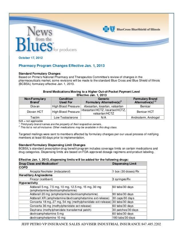 Blue Cross Blue Shield Pharmacy Formulary - PharmacyWalls