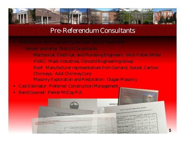 October 1 Referendum Presentation Haddonfield Boe