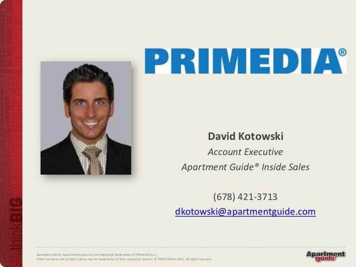 David Kotowski                                                                                                      Accoun...