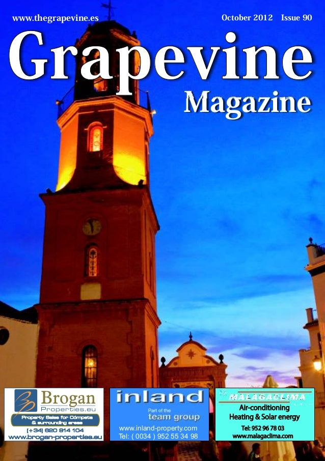www.thegrapevine.es                                          October 2012     Issue 90Grapevine                           ...
