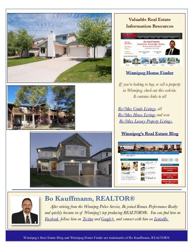 Real Estate Newsletter For October 2015