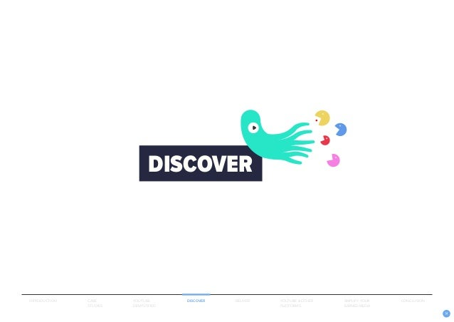14 DISCOVER INTRODUCTION CASE STUDIES YOUTUBE DEMYSTIFIED DISCOVER DELIVER AMPLIFY YOUR EARNED MEDIA YOUTUBE & OTHER PLATF...