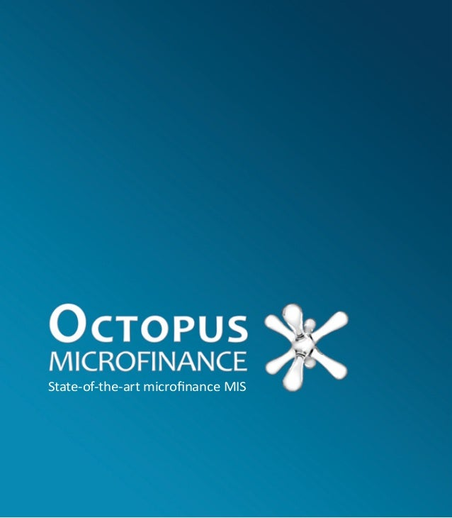 State-of-the-art microfinance MIS