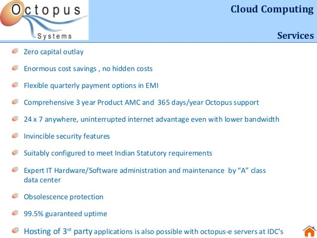 Octopus systems provider of sap erp tally hosting for Motor club service provider application