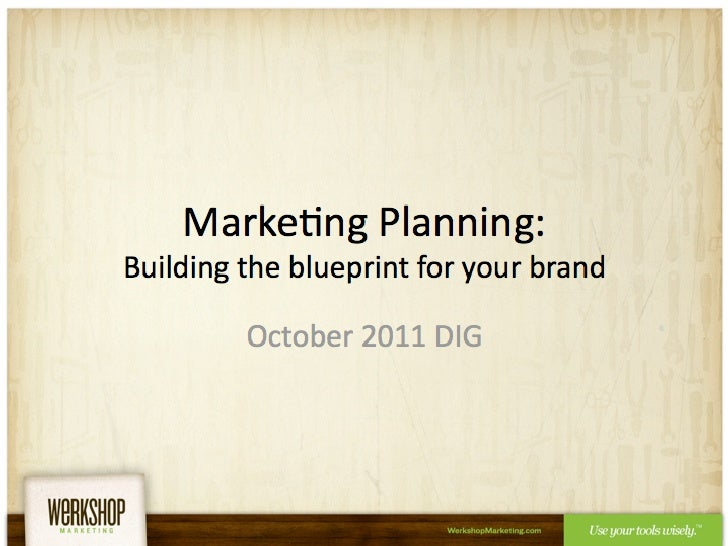 Marketing Blueprint: Building a Blueprint for Your Brand