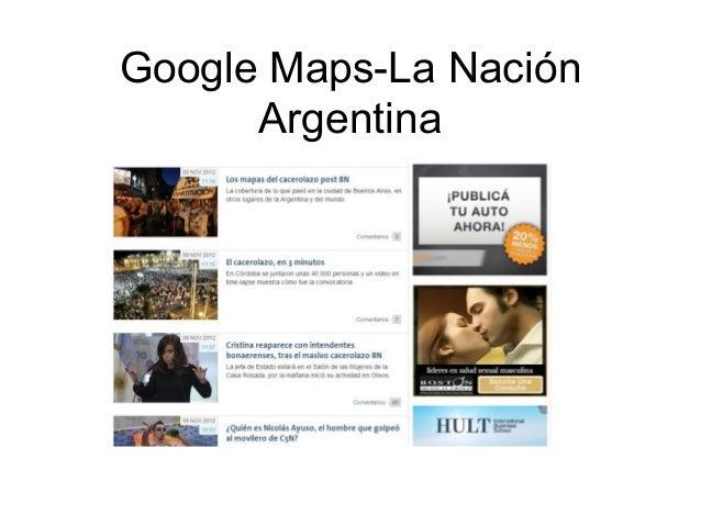 Google Maps-La Nación Argentina
