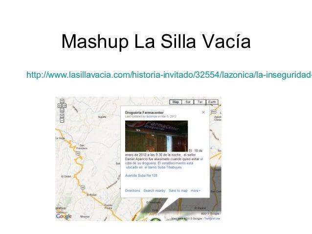 Mashup La Silla Vacía  http://www.lasillavacia.com/historia-invitado/32554/lazonica/la-inseguridad-