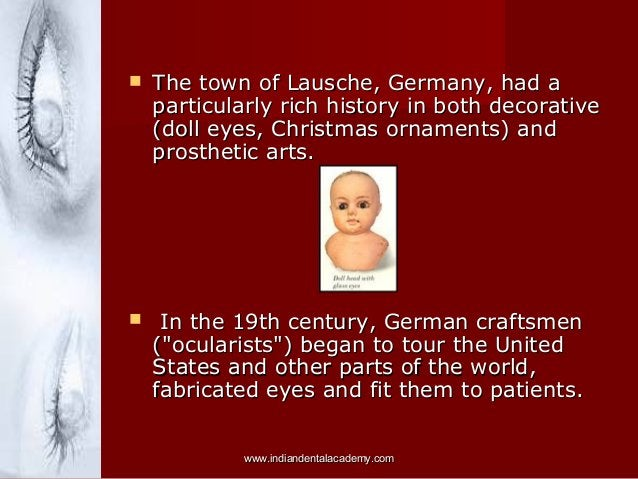   The town of Lausche, Germany, had a particularly rich history in both decorative (doll eyes, Christmas ornaments) and p...